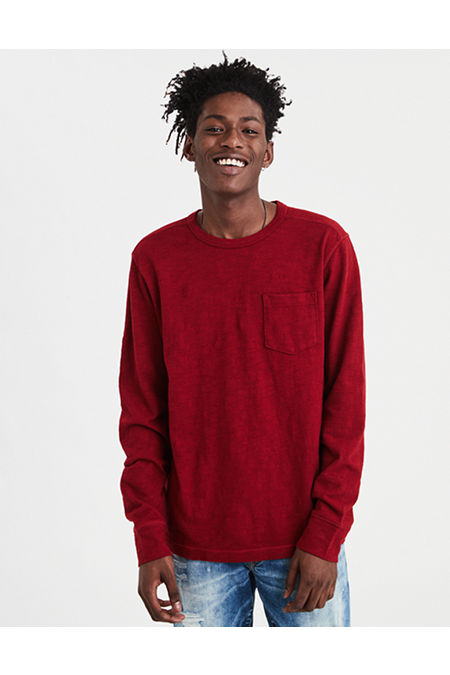 AE Long Sleeve Pocket T-Shirt