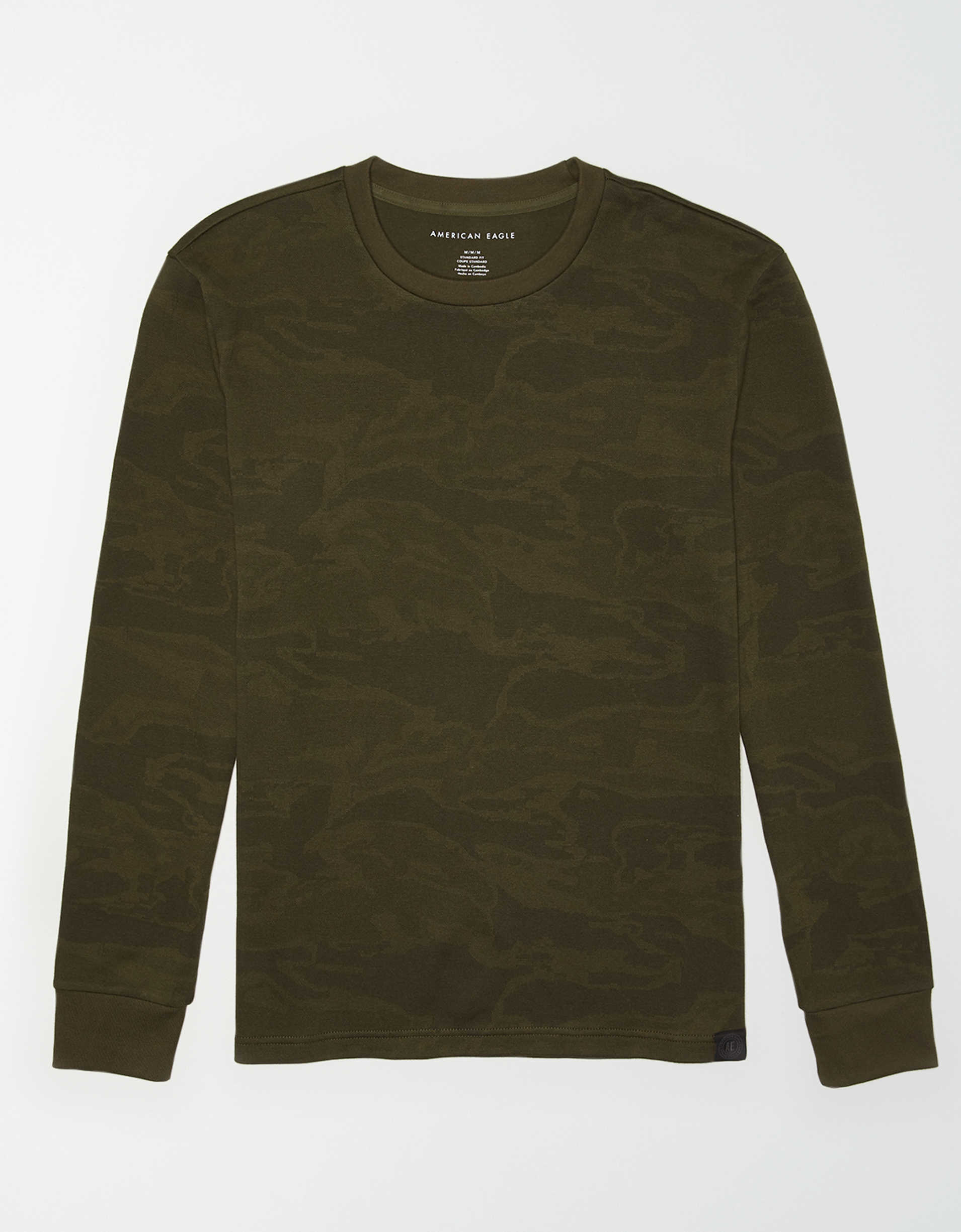 AE Long Sleeve Camo T-Shirt