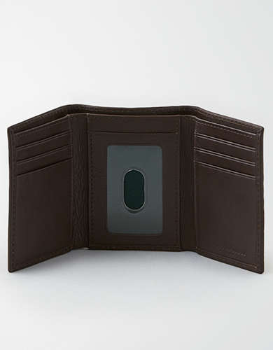 AEO Trifold Leather Wallet