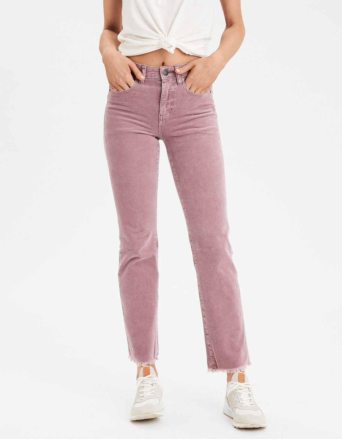 cf8af5e89ab High-Waisted Crop Flare Corduroy Pant. Placeholder image. Product Image