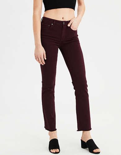 AE Ne(X)t Level High-Waisted Crop Flare Jean