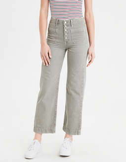 Wide Leg Crop Pant by American Eagle Outfitters