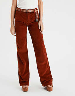 Wide Leg Corduroy Pants by American Eagle Outfitters