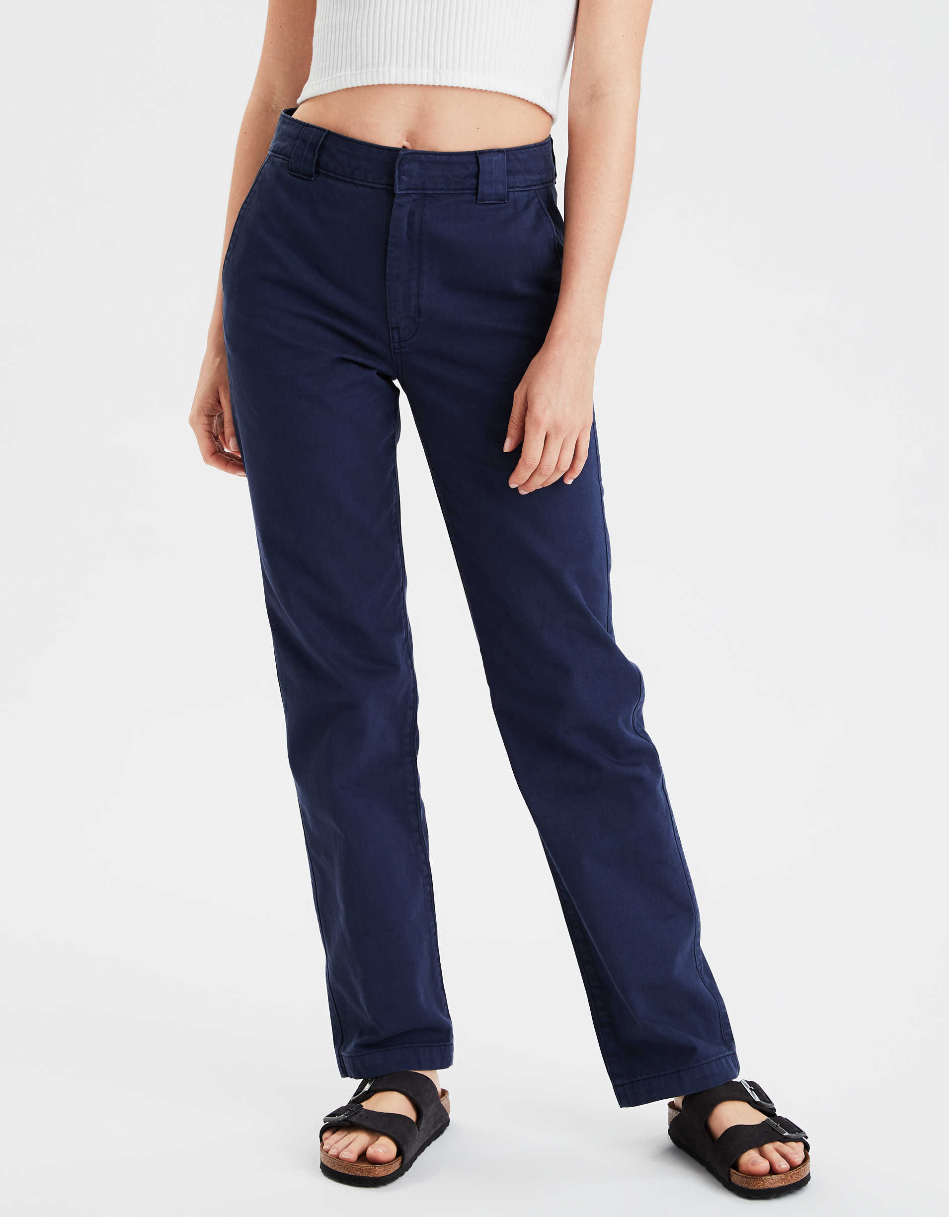 AE High-Waisted Workwear Pant