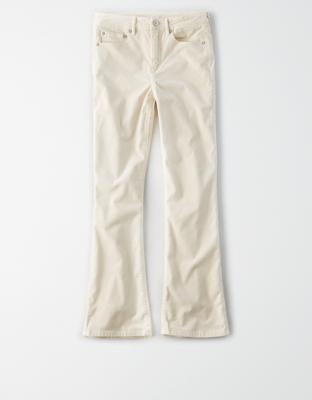 AE High-Waisted Corduroy Crop Flare Pant