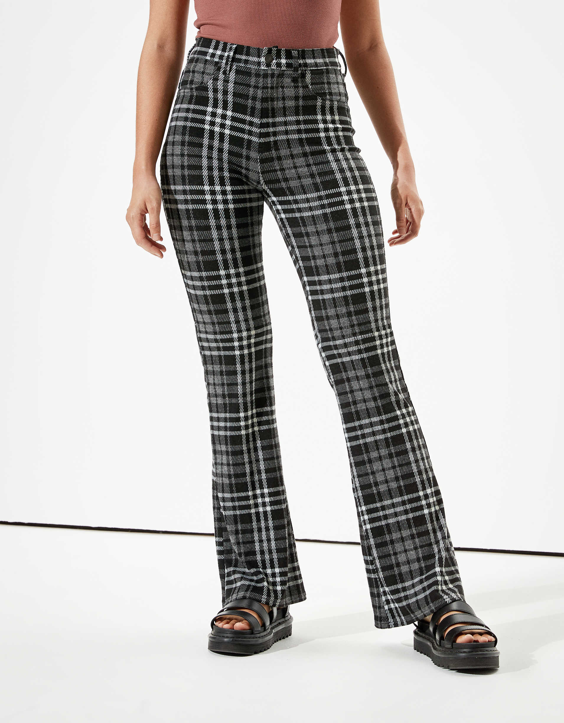 AE Super High-Waisted Flare Pant