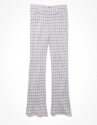 מכנסי קרופ Super High-Waisted Skinny Kick אמריקן איגל