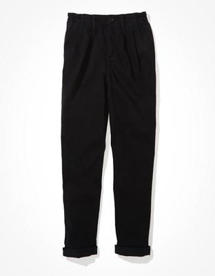 Стрейчевые штаны мом AE