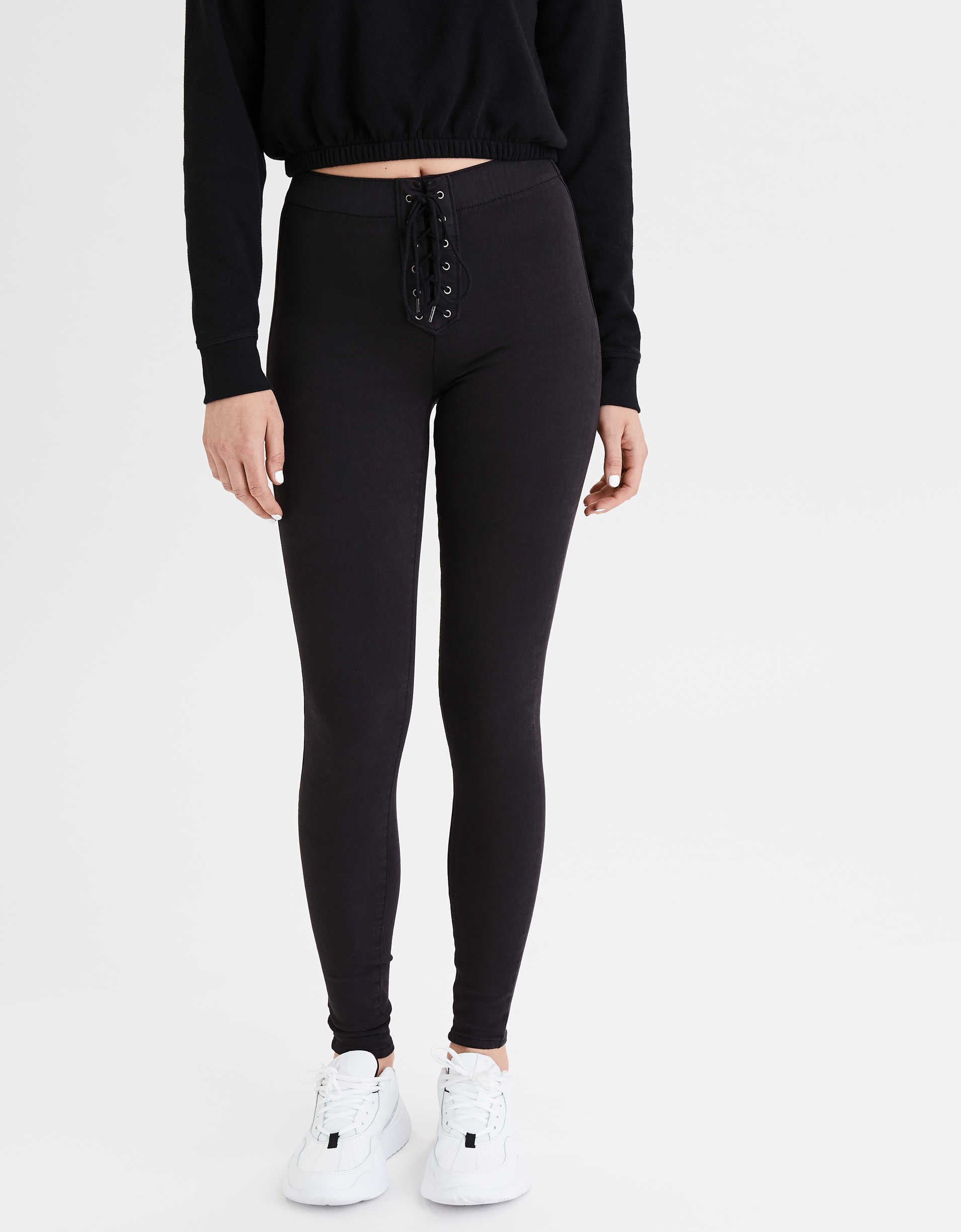 AE Ne(x)t Level High-Waisted Pull-On Jegging
