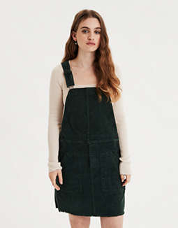 Corduroy Dress Overall