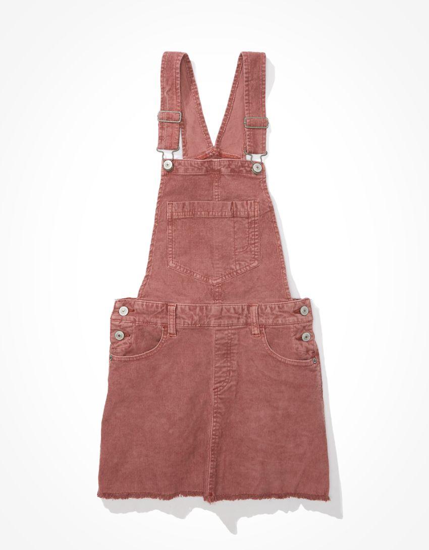 AE Corduroy Dress Overall