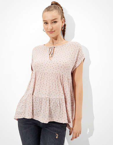 AE Tiered Tunic Top