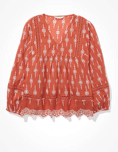 AE Embroidered Blouse