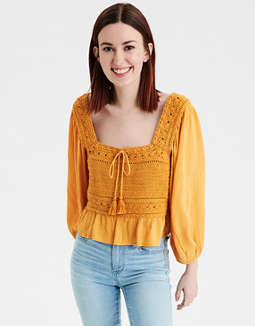 AE Crochet Top