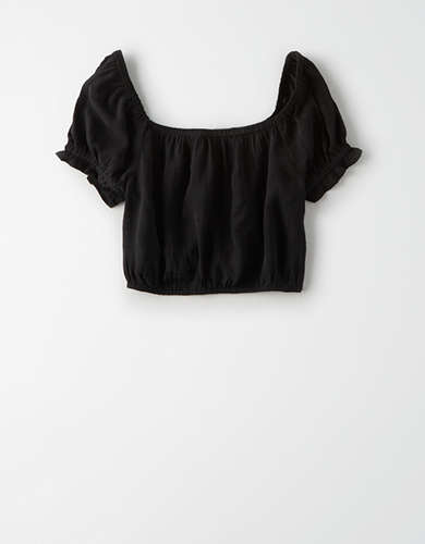 AE Square Neck Crop Top