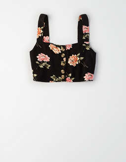Ae Button Front Camisole by American Eagle Outfitters