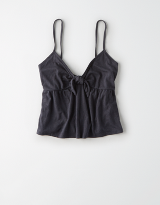 AE Knot Front Tank Top