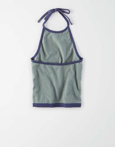 AE Cropped Halter Top