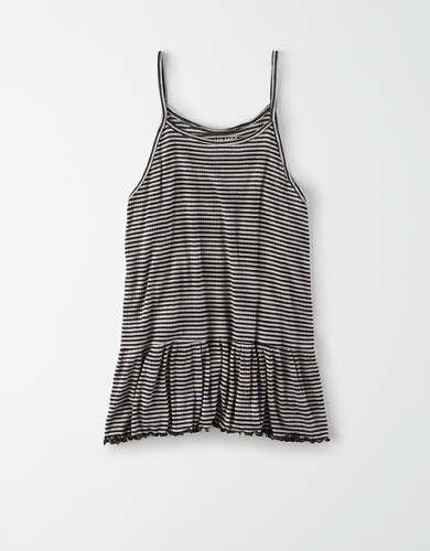 AE Soft & Sexy Peplum Swing Tank Top