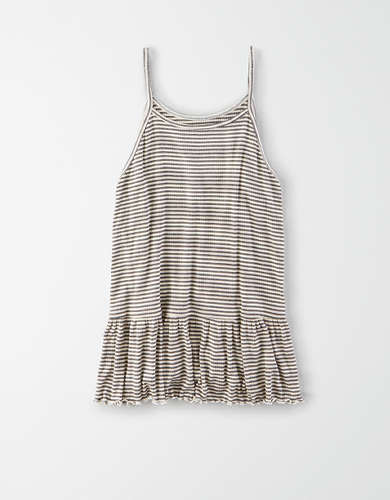 AE Peplum Swing Tank Top