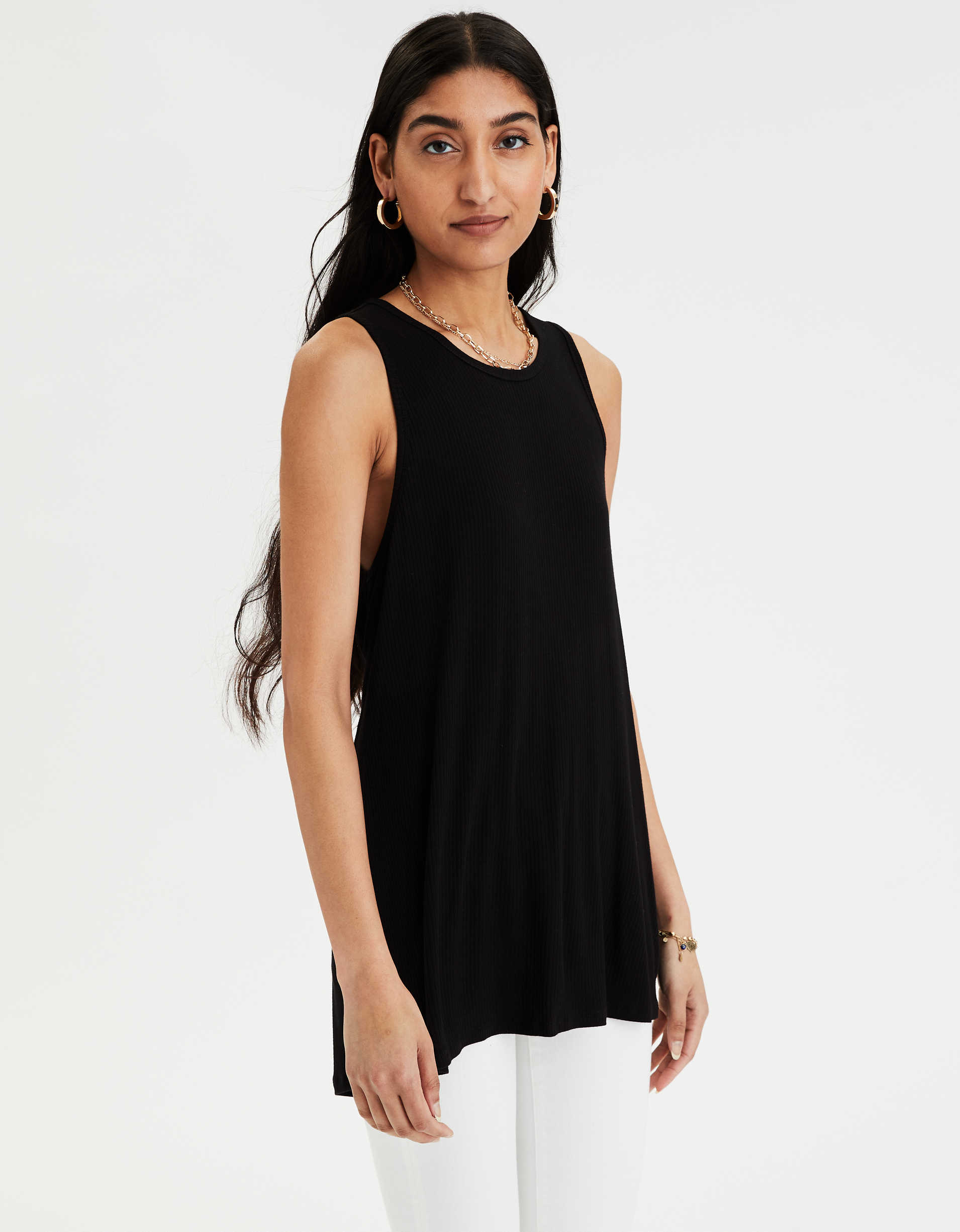 AE Twist Back Tank Top