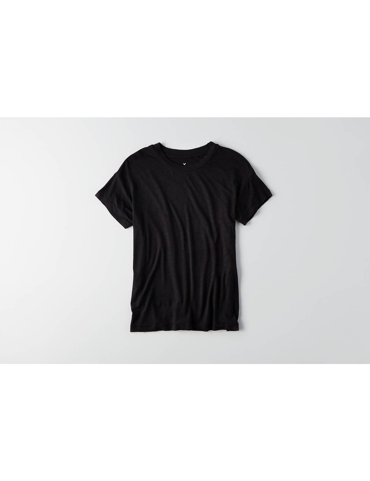 Plain black t shirt xxl - Display Product Reviews For Aeo Soft Sexy Crew Favorite T Shirt