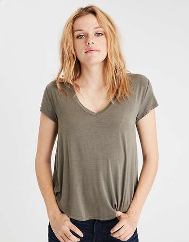 AE Soft & Sexy V Neck T-Shirt