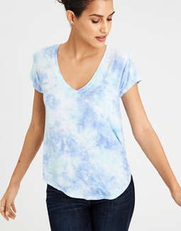 Ae Soft & Sexy Favorite V Neck T Shirt by American Eagle Outfitters