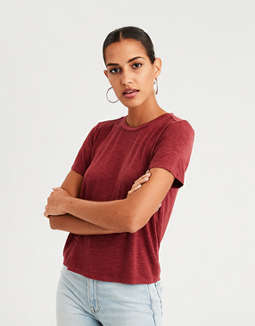 Ae Heather T Shirt by American Eagle Outfitters