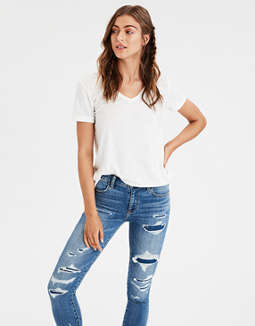 Ae V Neck Favorite T Shirt by American Eagle Outfitters