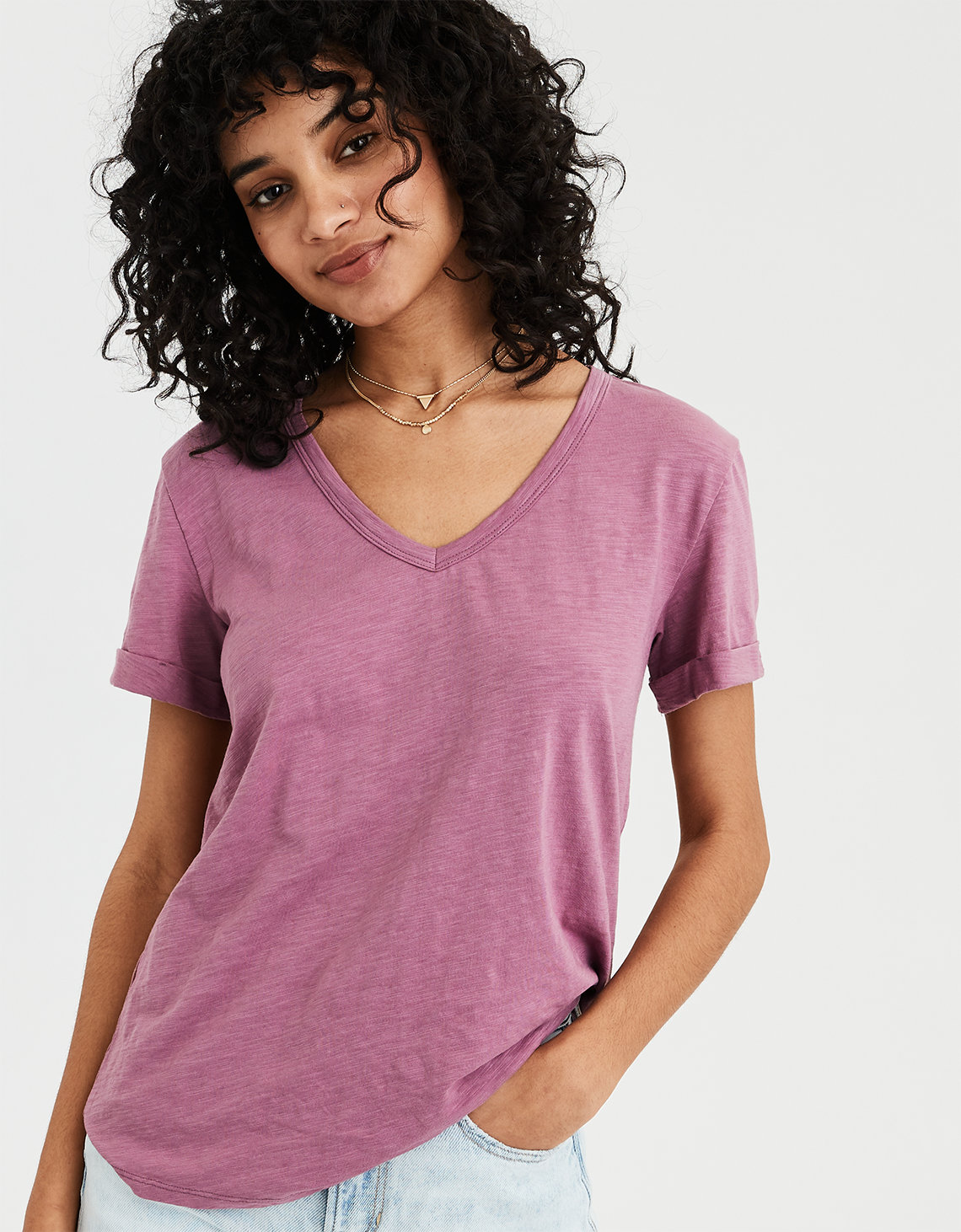 f5573091b65 AE V-Neck Favorite T-Shirt