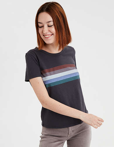 0193e475 Cotton Crew T Shirt | American Eagle Outfitters