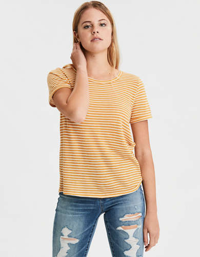 AE Striped Crew Neck T-Shirt