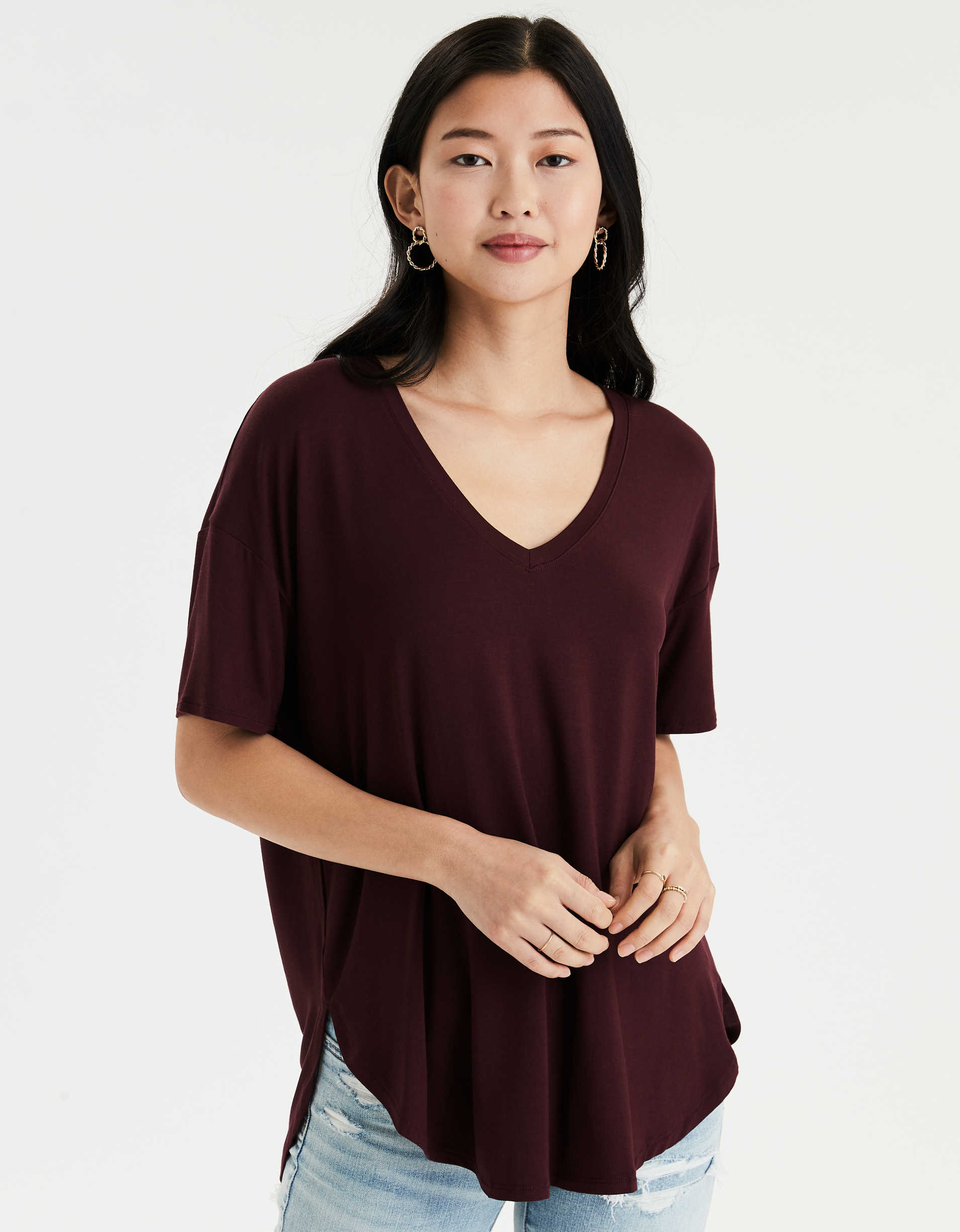 AE Soft & Sexy V-Neck T-Shirt