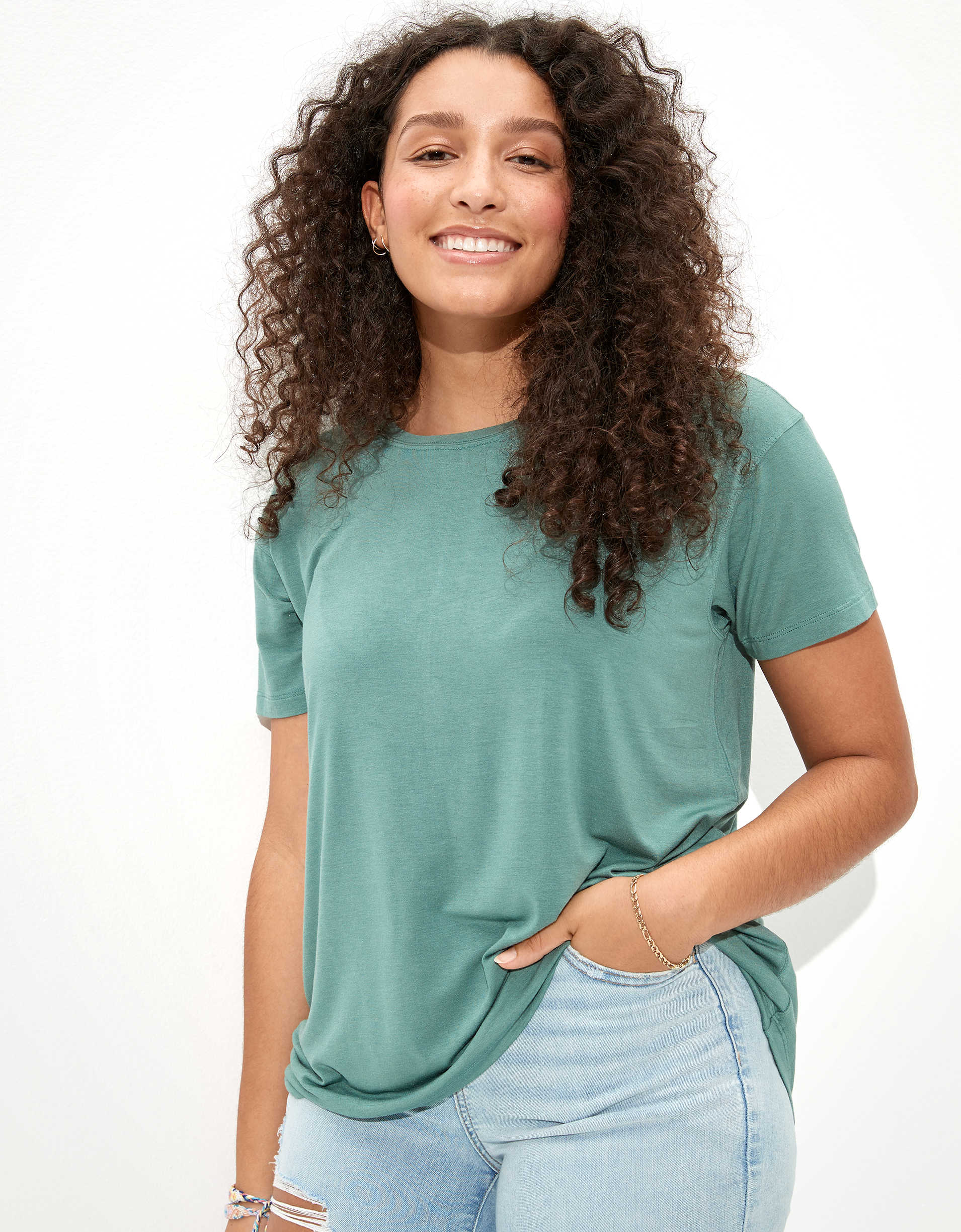 AE Soft & Sexy Crew Neck T-Shirt