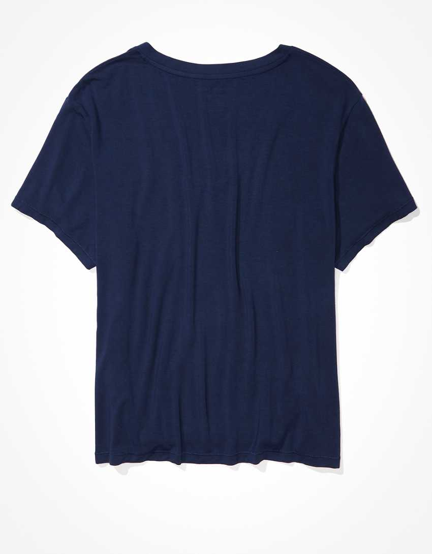 AE Oversized Soft & Sexy V-Neck T-Shirt