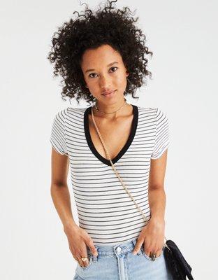 Soft & Sexy Ribbed Bodysuit