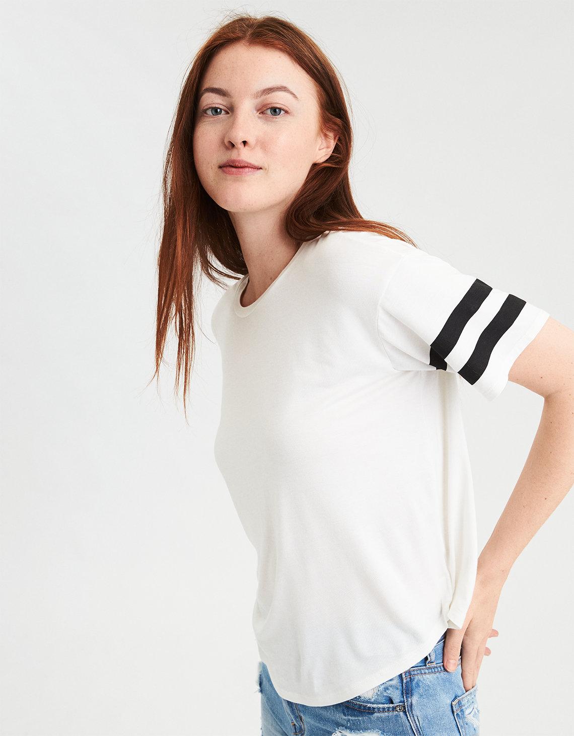 Womens Ladies Basic Drop Shoulder Tee T-Shirt Urban Classic Cheap Sale Largest Supplier Cheapest 2018 Online Aberdeen Designer ZuJagoig6