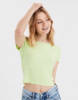 AE Neon Ribbed Baby T-Shirt