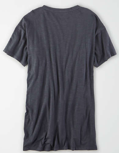 AE Crew Neck Tunic T-Shirt