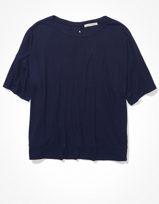 AE Перекрещенная сзади футболка