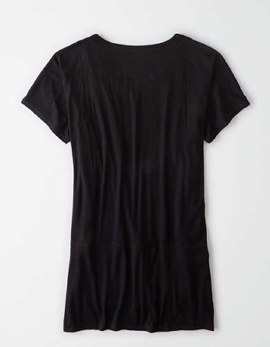 AE Scoop Neck Tunic T-Shirt