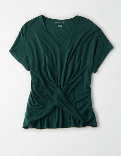 AE Twist Front T-Shirt