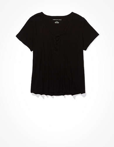 AE Lace Up Swing T-Shirt
