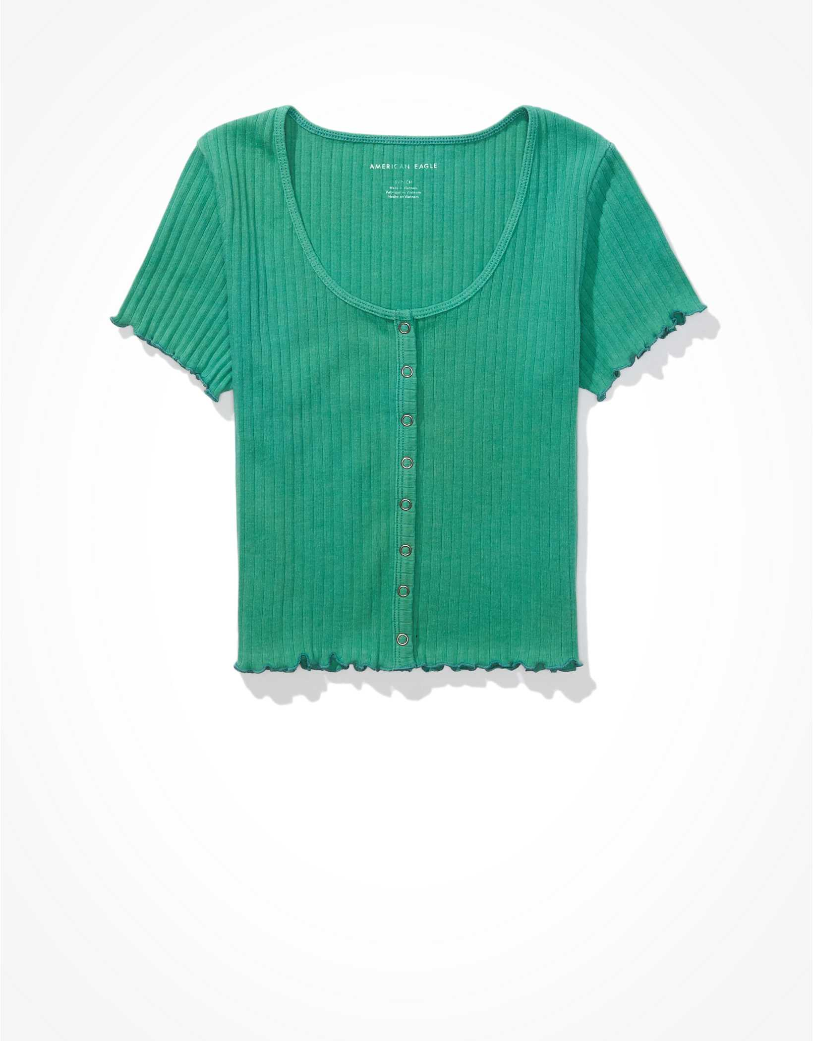 AE Snap-Front Baby Tee