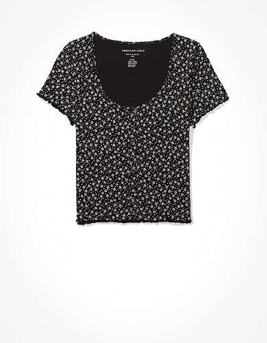 AE Snap-Front Baby T-Shirt