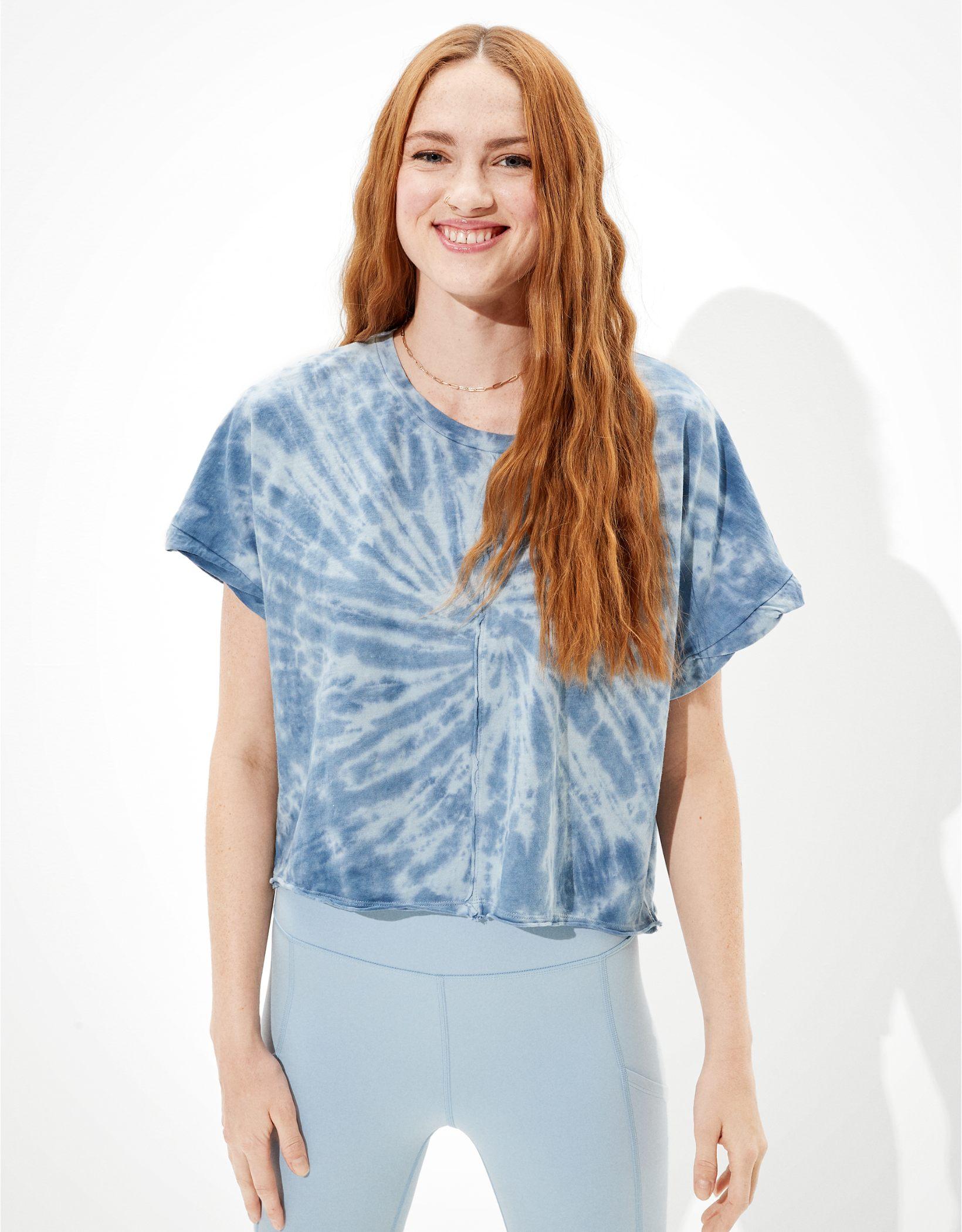 AE Tie-Dye Dolman Sleeve T-Shirt