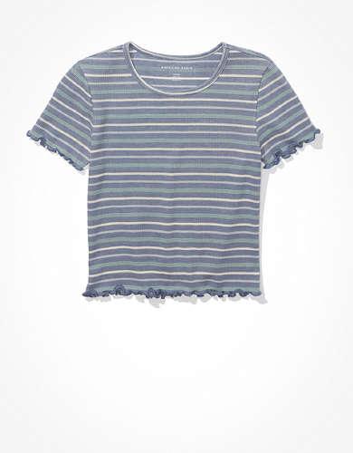 AE ストライプ チビTシャツ