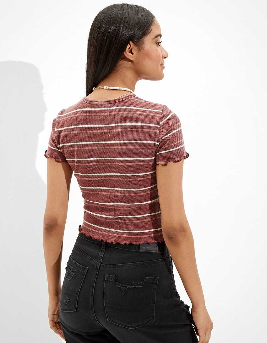 AE Striped Baby Tee