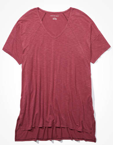 AE V-Neck Tunic T-Shirt